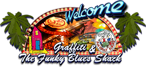 Graffiti Welcome Logo